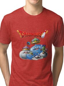 Dragon Quest - slime Tri-blend T-Shirt