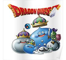 Dragon Quest - slime Poster
