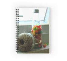 Yarn and the Beans Spiral Notebook