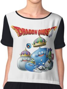 Dragon Quest - slime Chiffon Top