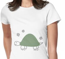 turtle time Womens Fitted T-Shirt