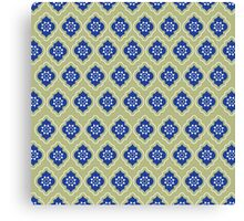 Mughal lattice Canvas Print