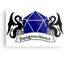 Dungeon Master Dungeons and Dragons Metal Print