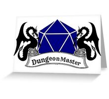 Dungeon Master Dungeons and Dragons Greeting Card