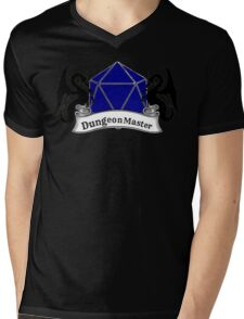 Dungeon Master Dungeons and Dragons Mens V-Neck T-Shirt