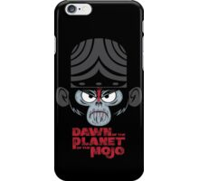 DAWN OF THE PLANET OF THE MOJO iPhone Case/Skin