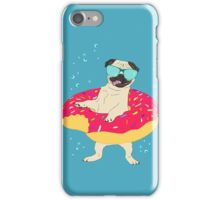 donut pug - lifebuoy iPhone Case/Skin