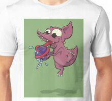 Chupacabra & her lollypop w/ BG Unisex T-Shirt
