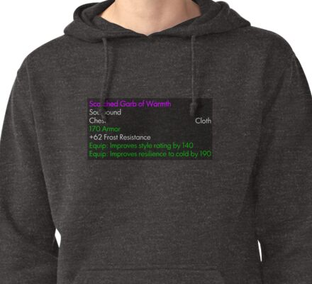Scorched Garb of Warmth Pullover Hoodie