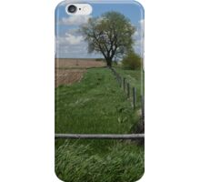 Along the Fence Line iPhone Case/Skin