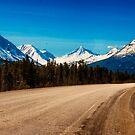 Alaska Highway in Eastern Yukon by Yukondick