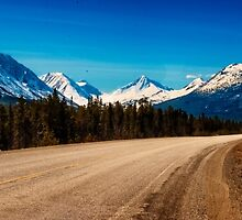 Alaska Highway in Eastern Yukon by Yukondick