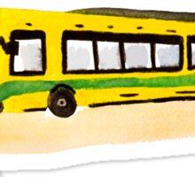 Banana Bus Squad Sticker