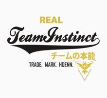 Pokemon go - team Instinct Kids Tee