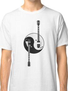 Guitar Yin Yang Classic T-Shirt