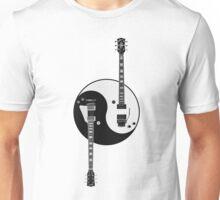 Guitar Yin Yang Unisex T-Shirt