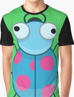 Funny Colorful Cute Little Bug Graphic T-Shirt