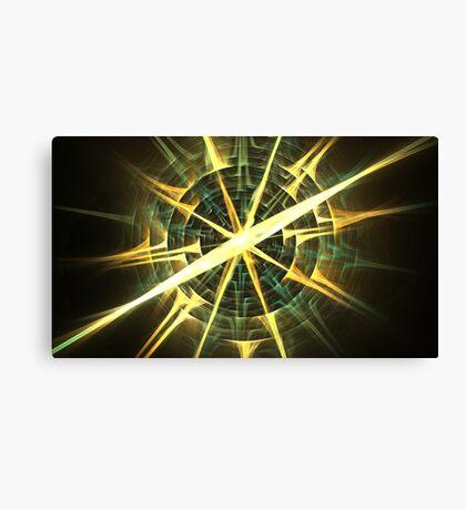 Sun Compass Canvas Print