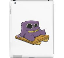 Yeti Sledding  iPad Case/Skin
