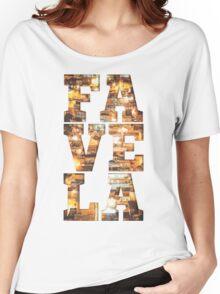 FAVELA Women's Relaxed Fit T-Shirt