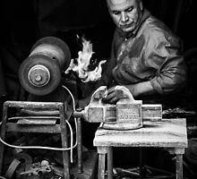 The Metalsmith  by Michiel de Lange