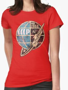 CCCP Boctok VIII 1962 Womens Fitted T-Shirt