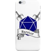 Warrior Dungeons and Dragons iPhone Case/Skin