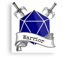 Warrior Dungeons and Dragons Metal Print