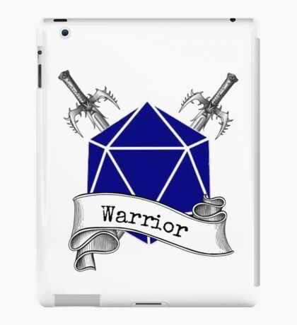 Warrior Dungeons and Dragons iPad Case/Skin