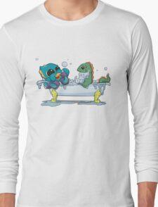 Kraken & Loch Ness in the Tub Long Sleeve T-Shirt