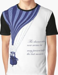 Jules Verne - Around the World in 80 Days Graphic T-Shirt
