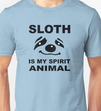 Sloth is My Spirit Animal Unisex T-Shirt