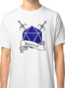 Warrior Dungeons and Dragons Classic T-Shirt
