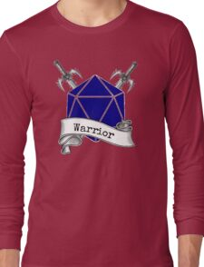 Warrior Dungeons and Dragons Long Sleeve T-Shirt