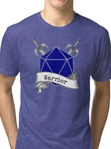 Warrior Dungeons and Dragons Tri-blend T-Shirt