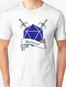 Warrior Dungeons and Dragons T-Shirt