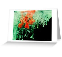 Abstract watercolor background. Greeting Card