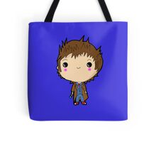Kawaii Doctor Who Chibi (David Tennant) Glasgow Tote Bag