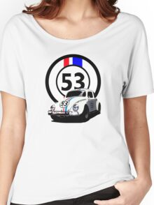 HERBIE 53 - THE LOVE BUG  Women's Relaxed Fit T-Shirt