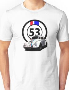 HERBIE 53 - THE LOVE BUG  Unisex T-Shirt