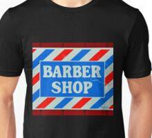 Old Barbershop sign Unisex T-Shirt