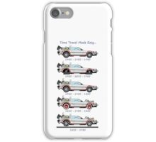 Time Travel Made Easy iPhone Case/Skin