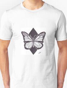 Dotwork Monarch Butterfly T-Shirt