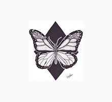 Dotwork Monarch Butterfly Unisex T-Shirt