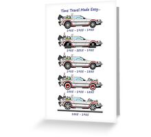 Time Travel Made Easy Greeting Card