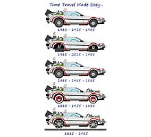 Time Travel Made Easy Photographic Print