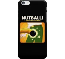 NUTBALL! - NEW ATARI GAME iPhone Case/Skin