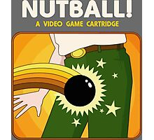 NUTBALL! - NEW ATARI GAME Photographic Print