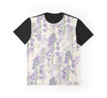 wild purple flowers Graphic T-Shirt