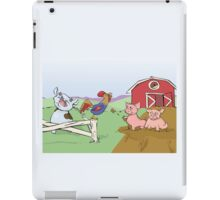 Good Morning Ranch!  iPad Case/Skin